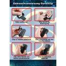 Gürtelclip für Gigaset A415 Gigaset A420 aus 3D Druck